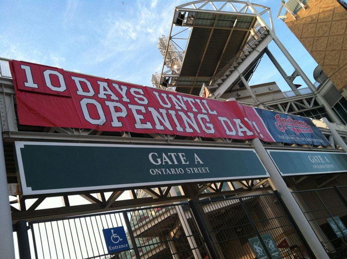 The Final Countdown… 10 Days Till Opening Day!