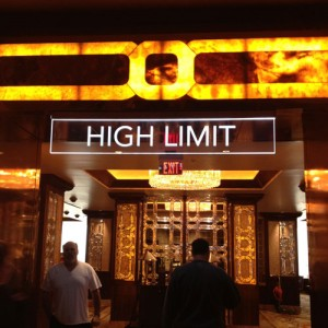 The High Limit Room at The Horseshoe