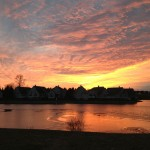 Ridiculous Sunset Over Twinsburg