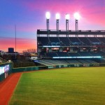 2013 Indians Home Opener Sunrise At Progressive Field