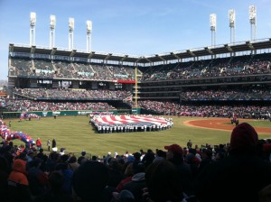 Opening Day 2011 At Progressive Field