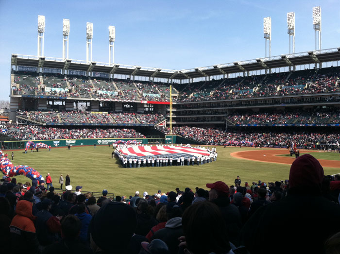 Opening Day 2011 At Progressive Field