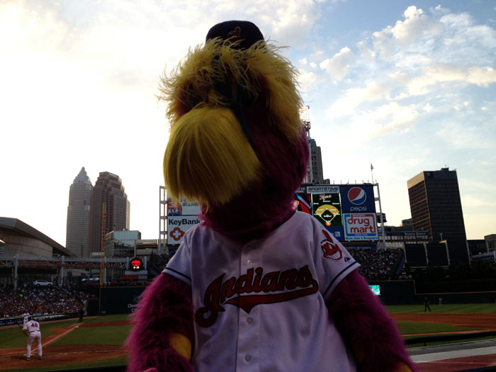 The Cleveland Indians #1 Fan – Slider!
