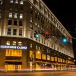 Cleveland's Horseshoe Casino At Night