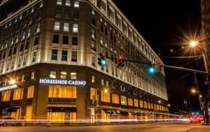 Horseshoe Casino At Night