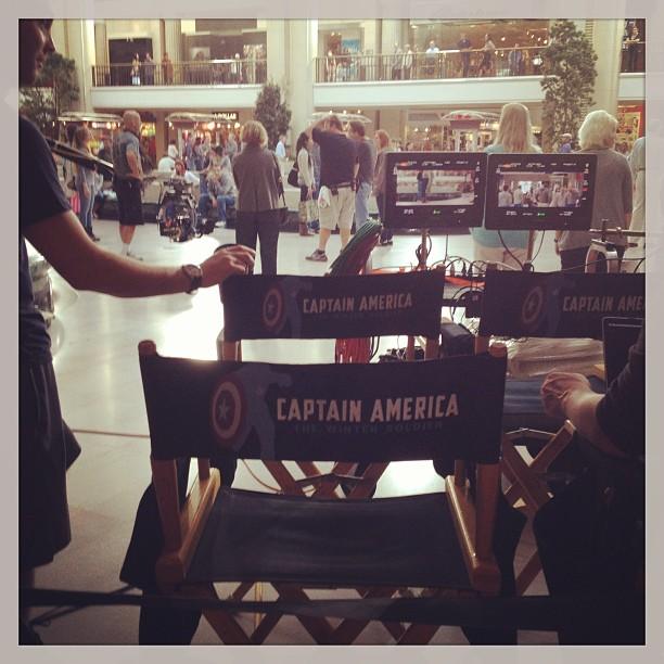 Captain America Invades Tower City