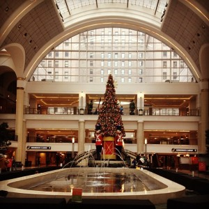 Tower City Christmas Tree