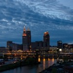 Downtown At Dusk – Happy Birthday Cleveland
