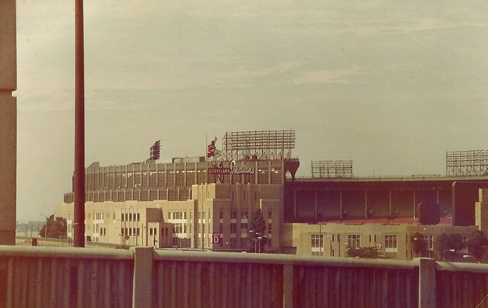 Cleveland Municipal Stadium Back In The Day