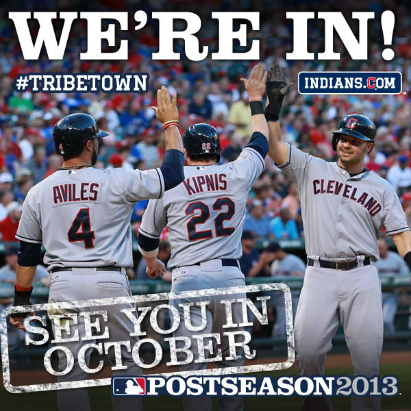 We're In! October Baseball Here Comes The Tribe!!!