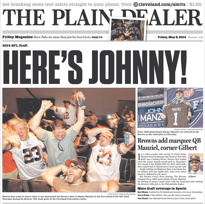 Here's Johnny! – Manziel Comes To Cleveland