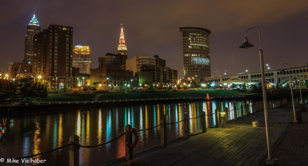 Cleveland From The Boardwalk