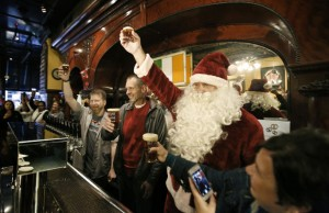 2014 Christmas Ale Tapping