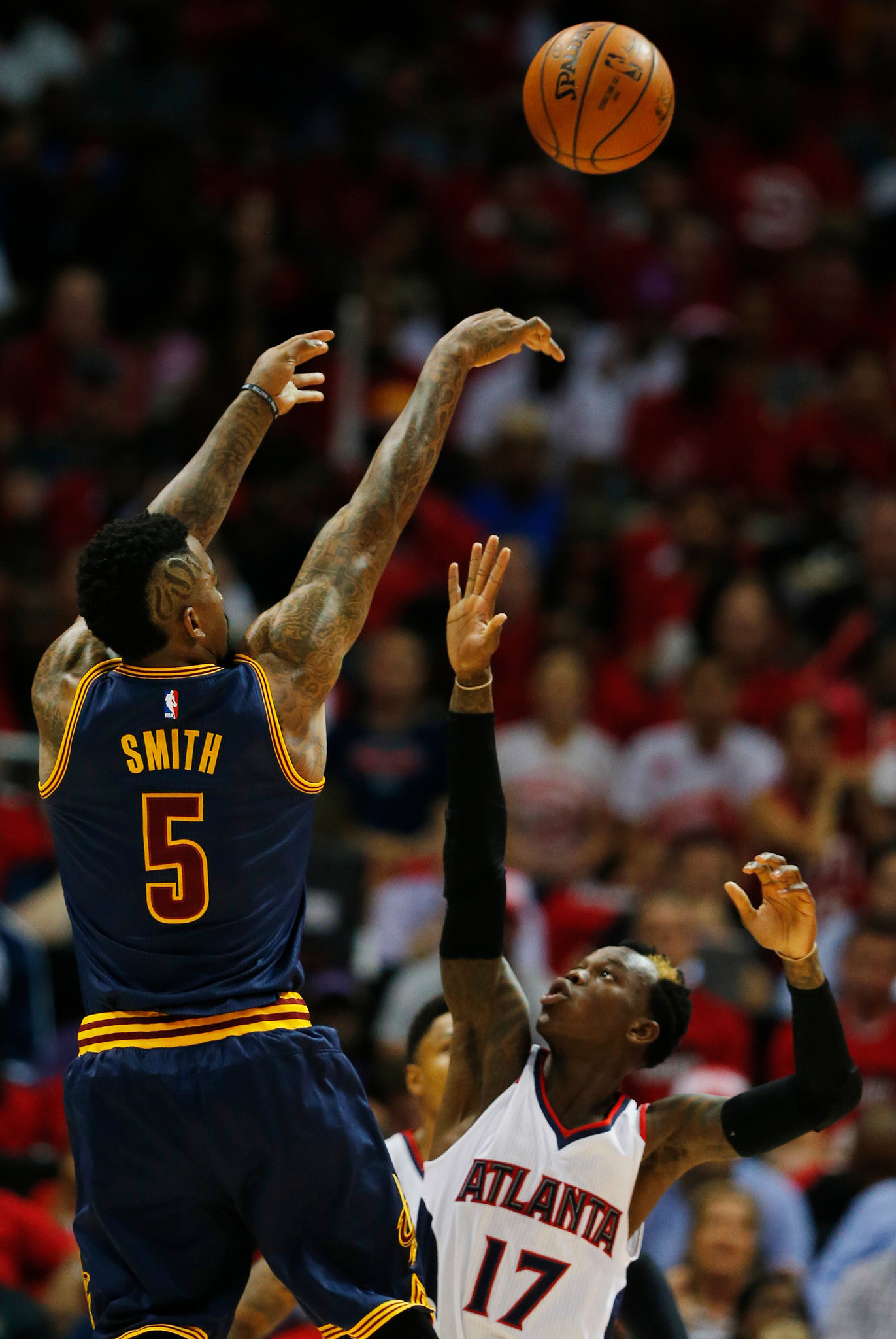 J.R. Smith - Eastern Conference Finals Game 1 5.20.2015