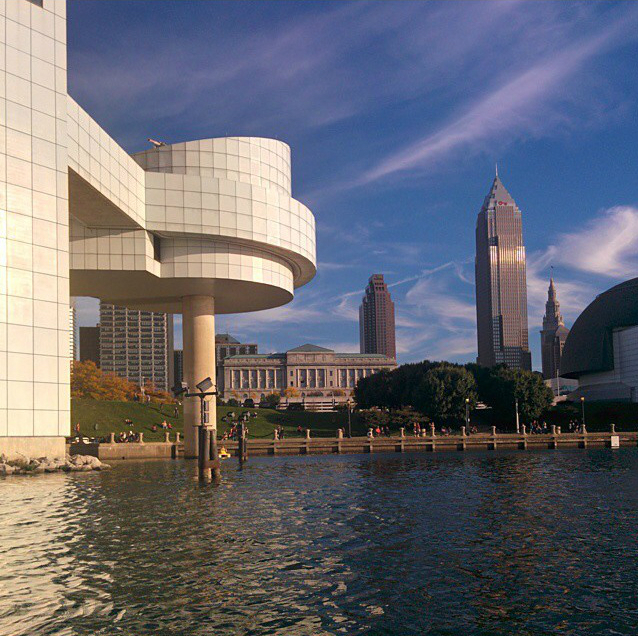Paddle Boating By The Rock Hall
