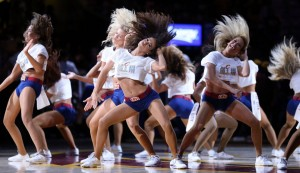 Cavs Girls In The Finals
