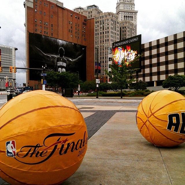ClevelandChick NBA Finals