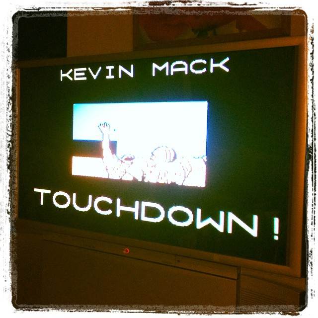 Touchdown Kevin Mack