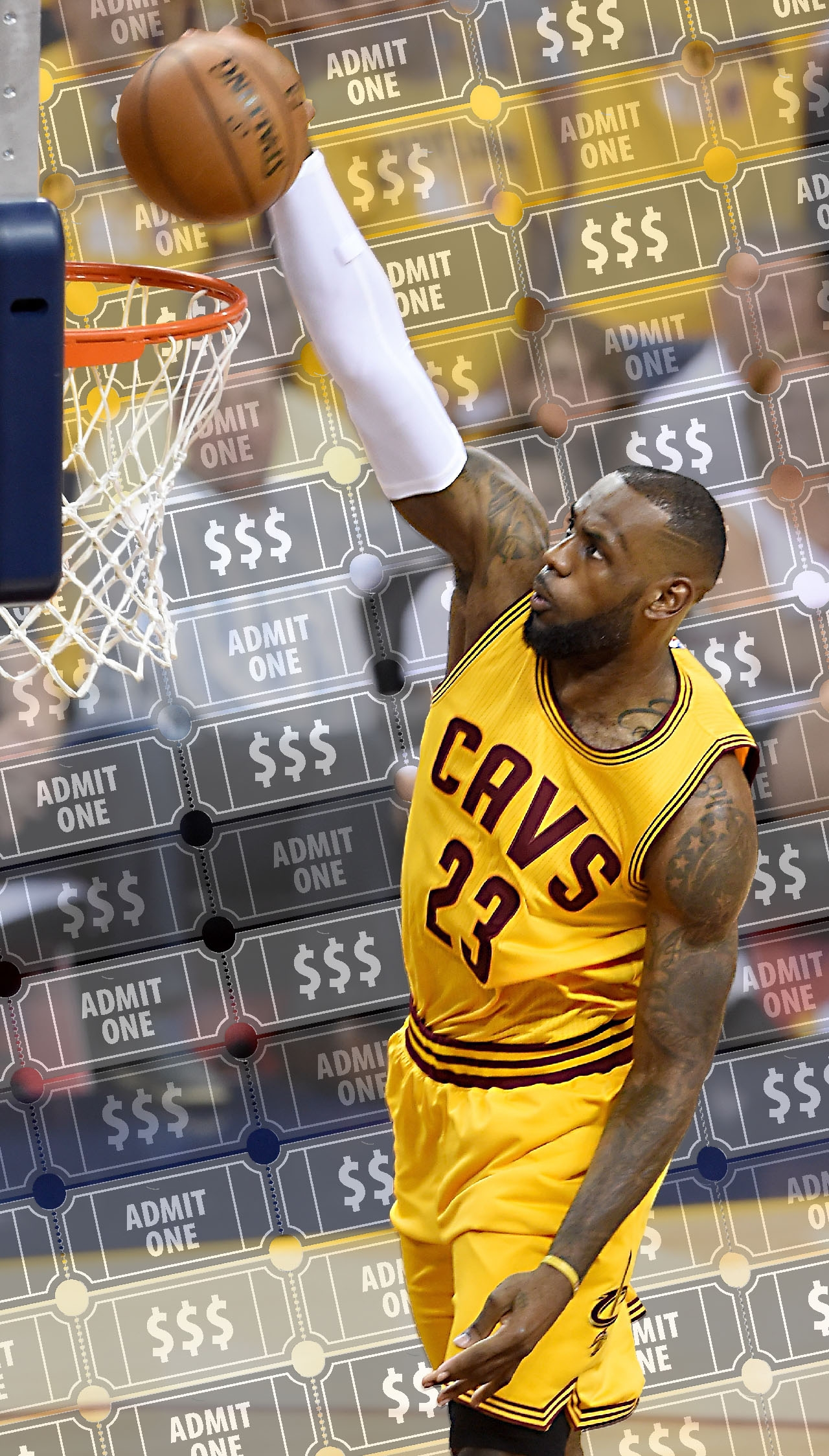LeBron Money
