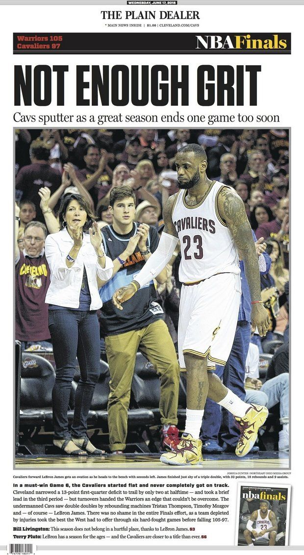 'Not Enough Grit' ~ The Plain Dealer