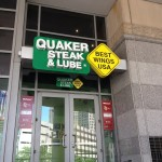 Quaker Steak & Lube At The Q