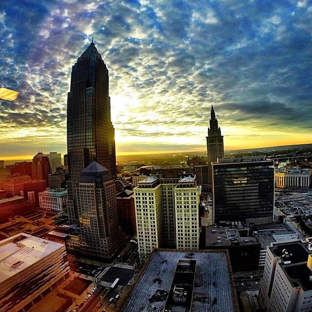 The Bursting Skyline In Cleveland