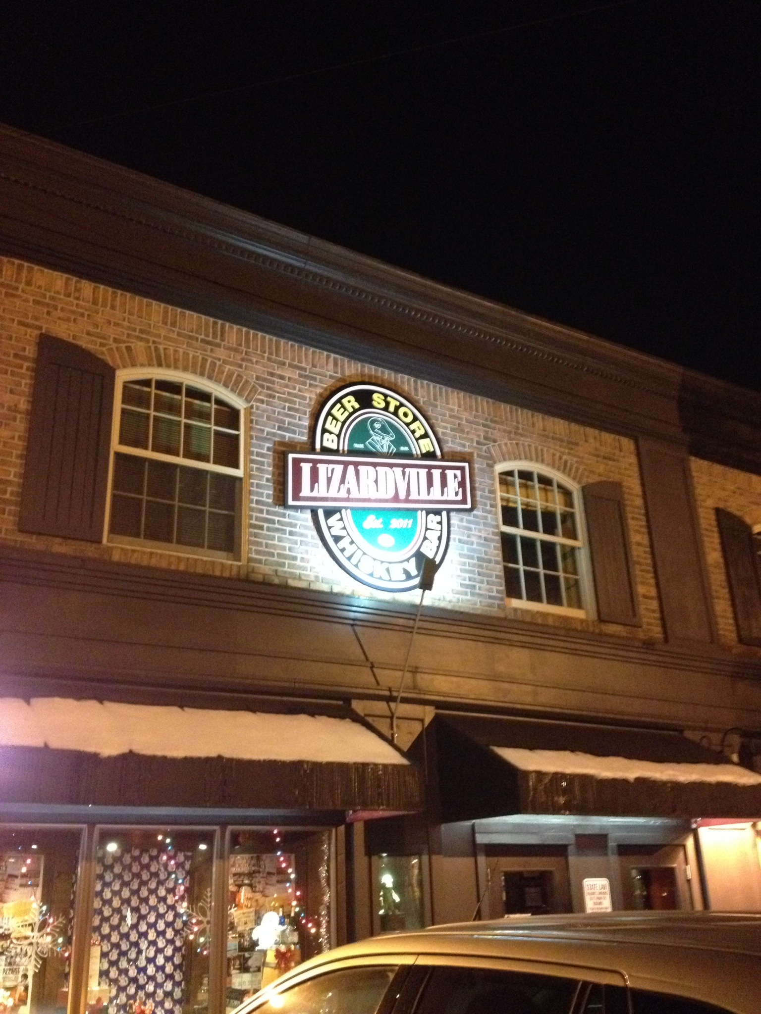 Lizardville Beer Store and Whiskey Bar