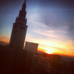 Sunset In CLE