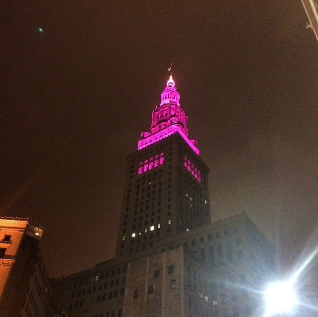 Purple Terminal Tower