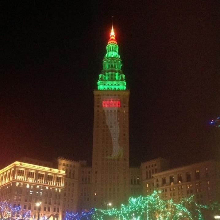 Terminal Tower Leg Lamp