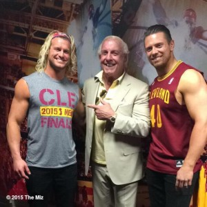 Dolph Ziggler, Ric Flair & The Miz