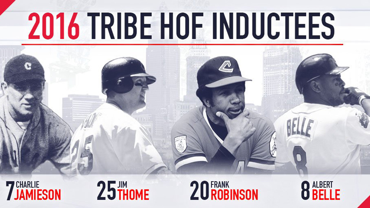 2016 Indians HOF Inductees