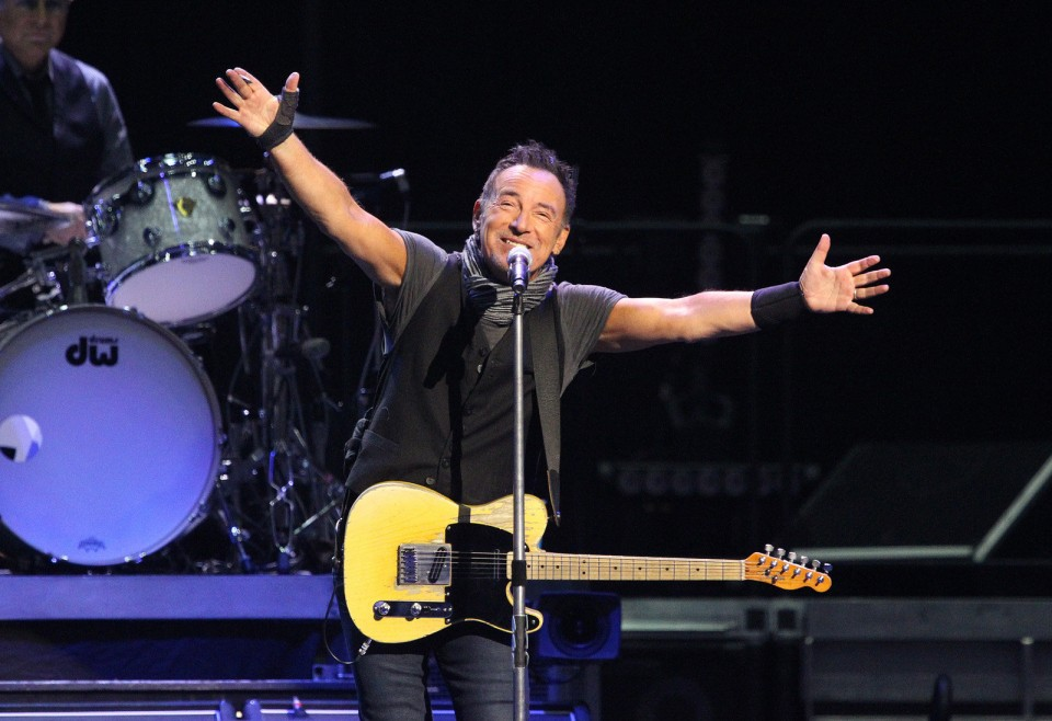 Bruce Springsteen In Cleveland