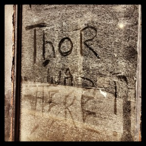 Thor Was Here