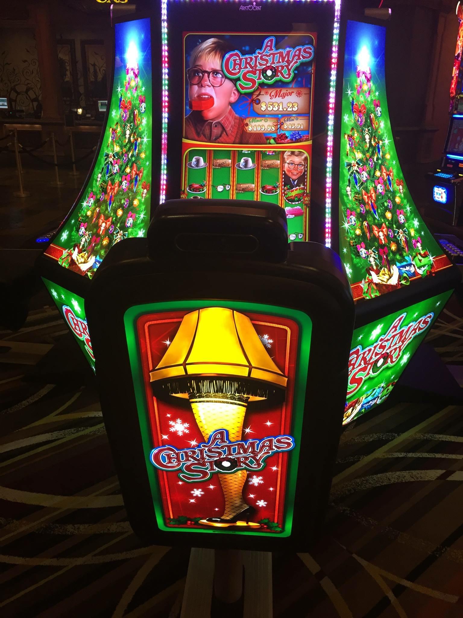 A Christmas Story Slot Machine