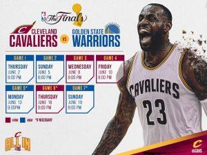 Cavs Warriors 2016 NBA Finals