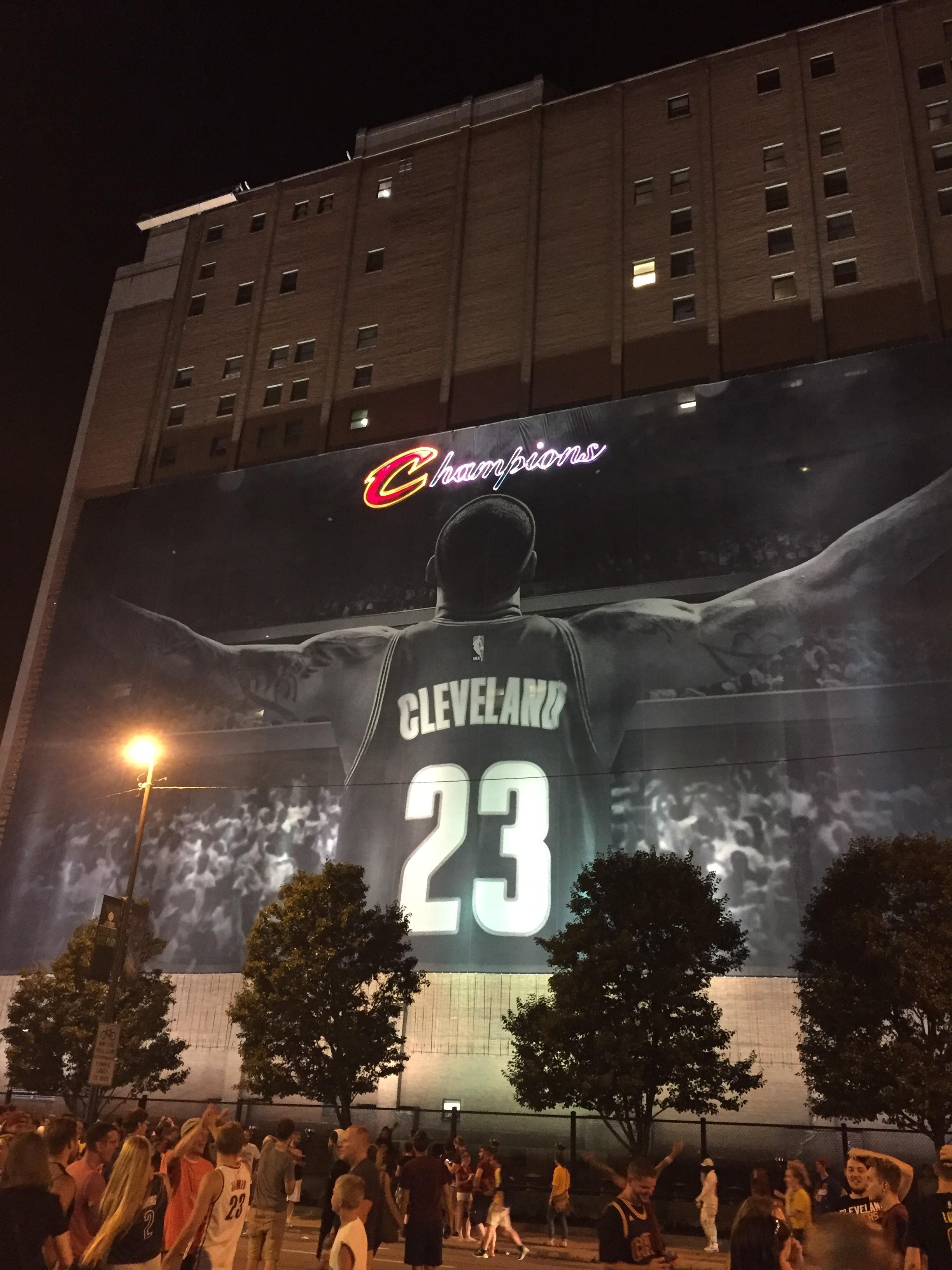 Champion Banner - Cleveland Scene