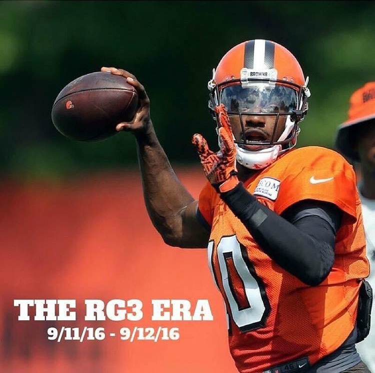 The RG3 Era in Cleveland