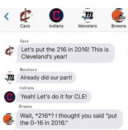 And Then There's The Browns