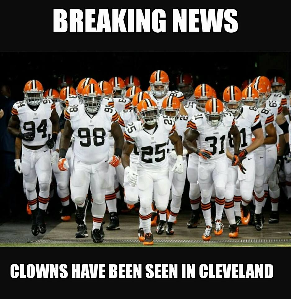 Clown Sightings In Cleveland