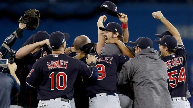 Indians Advance To World Series