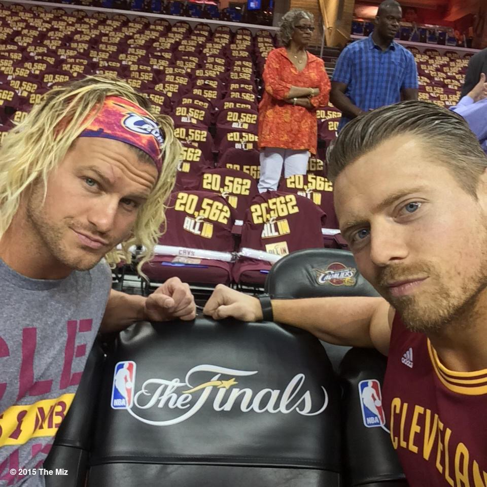 Dolph Ziggler & The Miz at The Q
