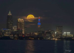 Super Moon Cleveland David Sands
