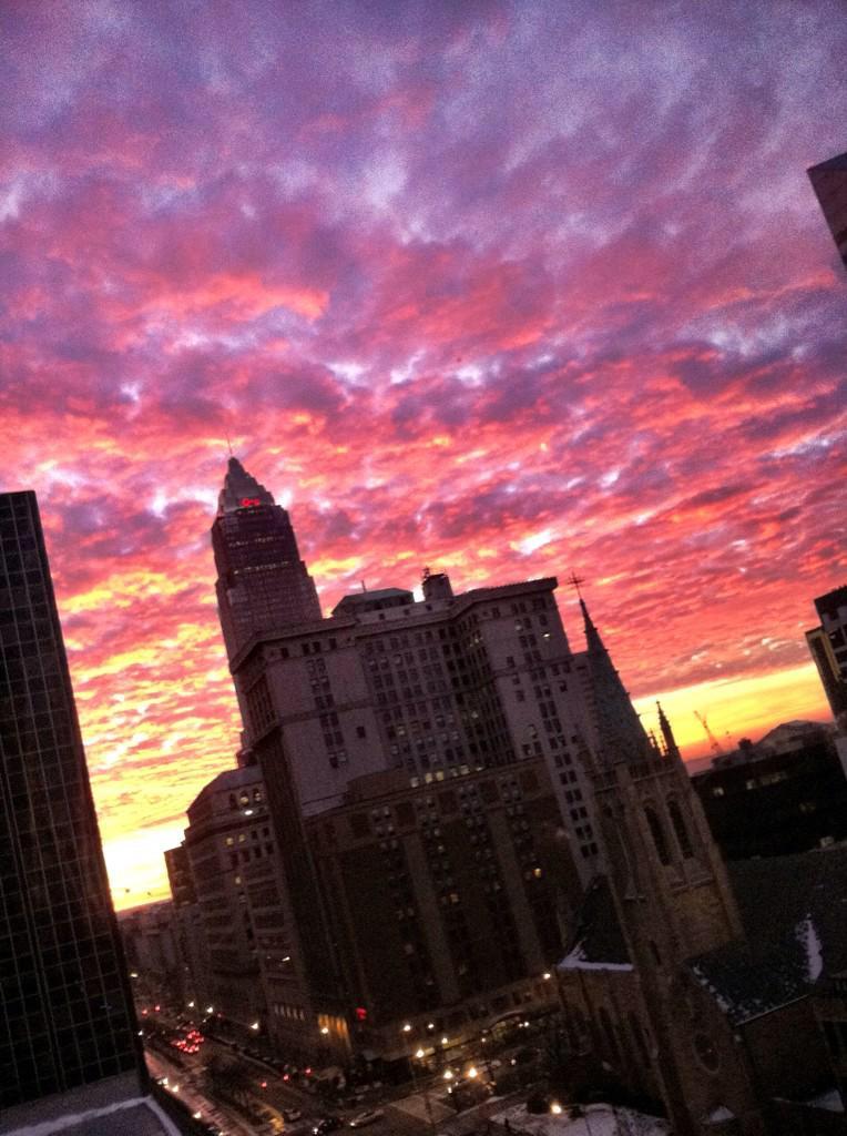 Cleveland Sky Porn