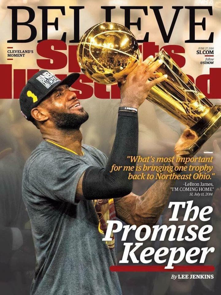 Believe It Cleveland… It Happened