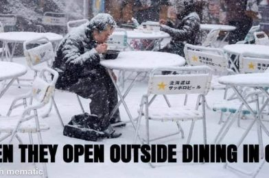 Outside Dining Coming To Ohio Next Week